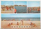 Bnk cp Navodari - Plaja - circulata - marca fixa, Printata
