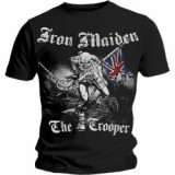 Tricou Unisex Iron Maiden: Sketched Trooper