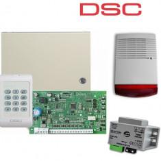 Kit centrala alarma exterior 8 Zone DSC