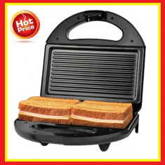 Aparat sendvisuri Sandwich-maker 750W Alb