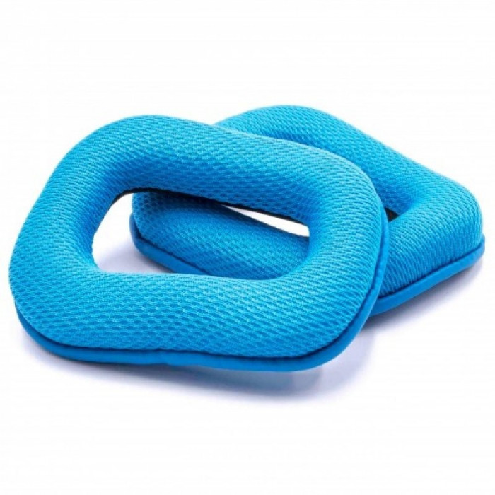 Ohrpolster blau passend pentru logitech g35, g430, g450, g930, f430, f450 u.a., ,