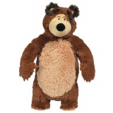 Cumpara ieftin Jucarie de plus Simba Masha and the Bear, Shake and Sound Bear 43 cm