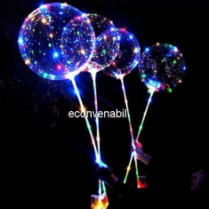 Set 50 Instalatii LED Snur Fairy Lights Multicolore pe Baterii Bobo Balon