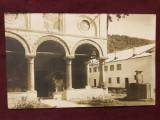 Carte postala interbelica - Manastirea Cozia / circulata !