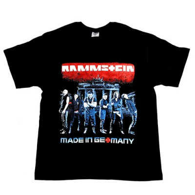 Tricou Rammstein - Made in Germany - Mein Land foto