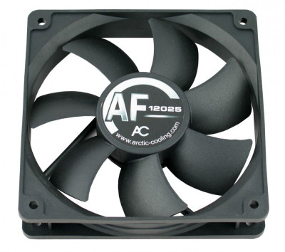 Ventilator carcasa silentios PC Arctic Cooling AF12025L 12V 0.15A 1000RPM mufa 3 pini foto