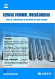 Cumpara ieftin Revista Forumul Judecatorilor - nr. 3 2012