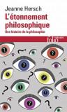 L'etonnement Philosoph/J Hersch