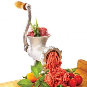 Masina Tocat Carne Manuala din FONTA nr .10 Aparat Manual Tocat carne