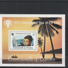 Anul international al copilului ,Dominica.