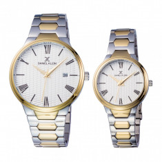 Set ceasuri pentru dama si barbati, Daniel Klein Pair, DK11916-4