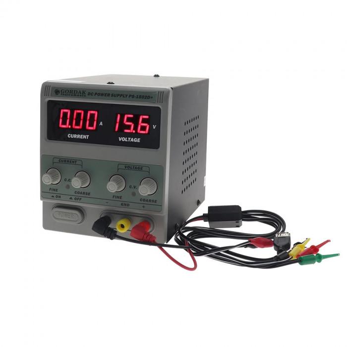 Sursa tensiune laborator Gordak PS-1502D