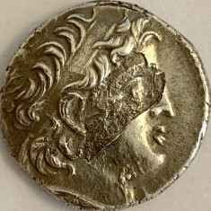IMPERIUL SELEUCID-DIDRACHM/DRAHMA-129-125 BC. DEMETRIOS II NICATOR,REG.SIRIA,AG.