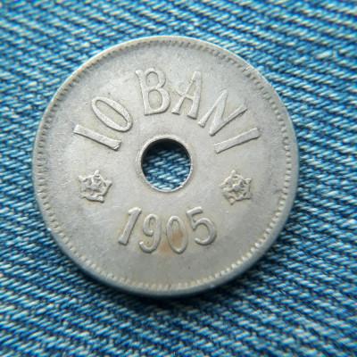 3m - 10 Bani 1905 Romania foto