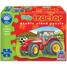 Puzzle Fata Verso Tractor 12 Piese