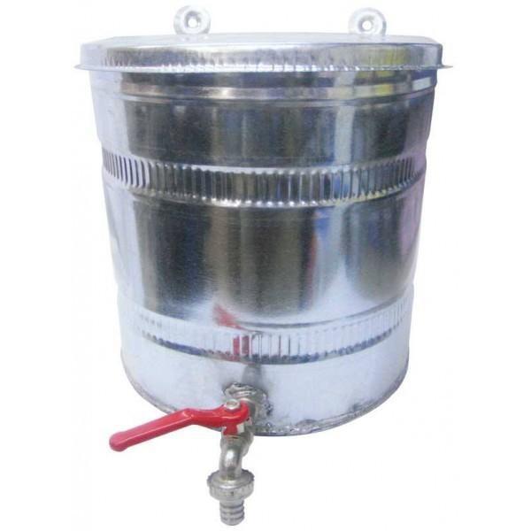 Bazin apa cu robinet 15L