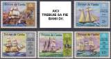 TRISTAN DA CUHNA - 1971 - CORABII, Transporturi, Nestampilat