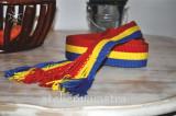 Cumpara ieftin brau tricolor, brau tesut manual, brau tesut la razboi, curea handmade