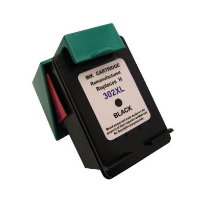 Cartus compatibil remanufacturat pentru HP 302XL, Black foto