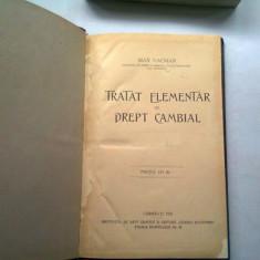 TRATAT ELEMENTAR DE DREPT CAMBIAL - MAX HACMAN