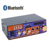 Amplificator Karaoke,bluetooth,Radio,Telecomanda,Putere 40W,USB, MicroSD