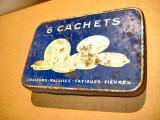 A346-Cutie veche 6 Cachets  pastile farmaceutice P. Metadier dr. in domeniu.