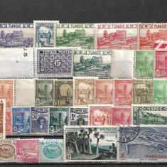 5966 - lot timbre colonii franceze
