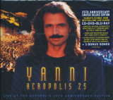 Yanni Live at the Acropolis 25th Anniversary remastered ed (cd+bluray+dvd)