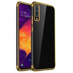 Husa SAMSUNG Galaxy A50 - Plating Soft (Auriu)