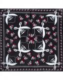 Batic dama de vara Pami bumbac, D1117-348-5, Alb/Negru