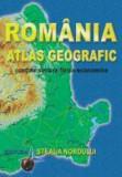 Romania. Atlas geografic - contine sinteze fizico-economice