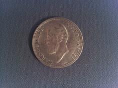 Monedă argint România 2 lei 1912 Carol I foto