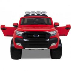 Masinuta electrica pentru copii Ford Ranger 4x4 , 4x35W #Rosu