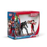 Figurina Schleich Batman Vs Harley Quinn Pack - 22514