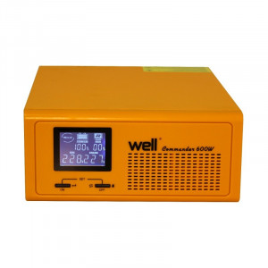 UPS centrale termice Commander, bypass, LCD, 230 V, 600 W