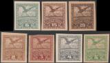 1919 Romania - Vultur 7 eseuri ndt diferite Ocupatia Romana in Debretin II
