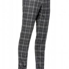 Pantaloni Barbati Gri In Carouri Slim CTP002 100