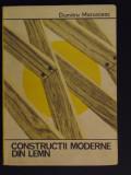 Constructii moderne din lemn