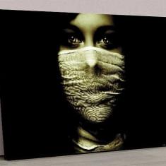 Tablou Canvas Girl Face Dark