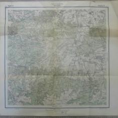 Hateg, Hatszeg// harta Serviciul Geografic Armatei 1916