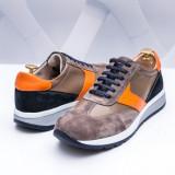 Pantofi sport Piele barbati gri Nadimo-rl