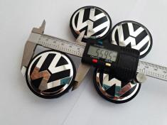 Capace jante aliaj Volkswagen diametru 55 56mm set 4 buc foto