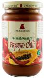 Sos BIO de rosii cu papaya-chili, 340 g ZWERGENWIESE