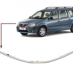 Ornament inferior grila Dacia Logan MCV, VAN cromat 8474