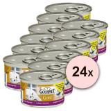 Conservă Gourmet GOLD - Tort savuros cu miel și fasole verde 24 x 85g, 17+7 GRATUIT