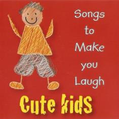 CD Cute Kids (Songs To Make You Laugh), original, muzica pentru copii