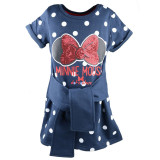 Rochita pentru fete Sun City Minnie Mouse HS1081, Bleumarin