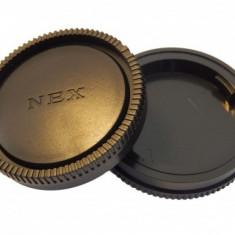 Objektivdeckel-gehäusedeckel-set pentru sony nex-systeme (nex-7,5,3,e), ,