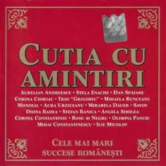 CD - Cutia Cu Amintiri, original, holograma: Corina Chririac, Dan Spataru