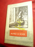 I.Al.Bratescu-Voinesti -Nuvele si Schite - Ed.Tineretului 1958 , 259pag,prefata